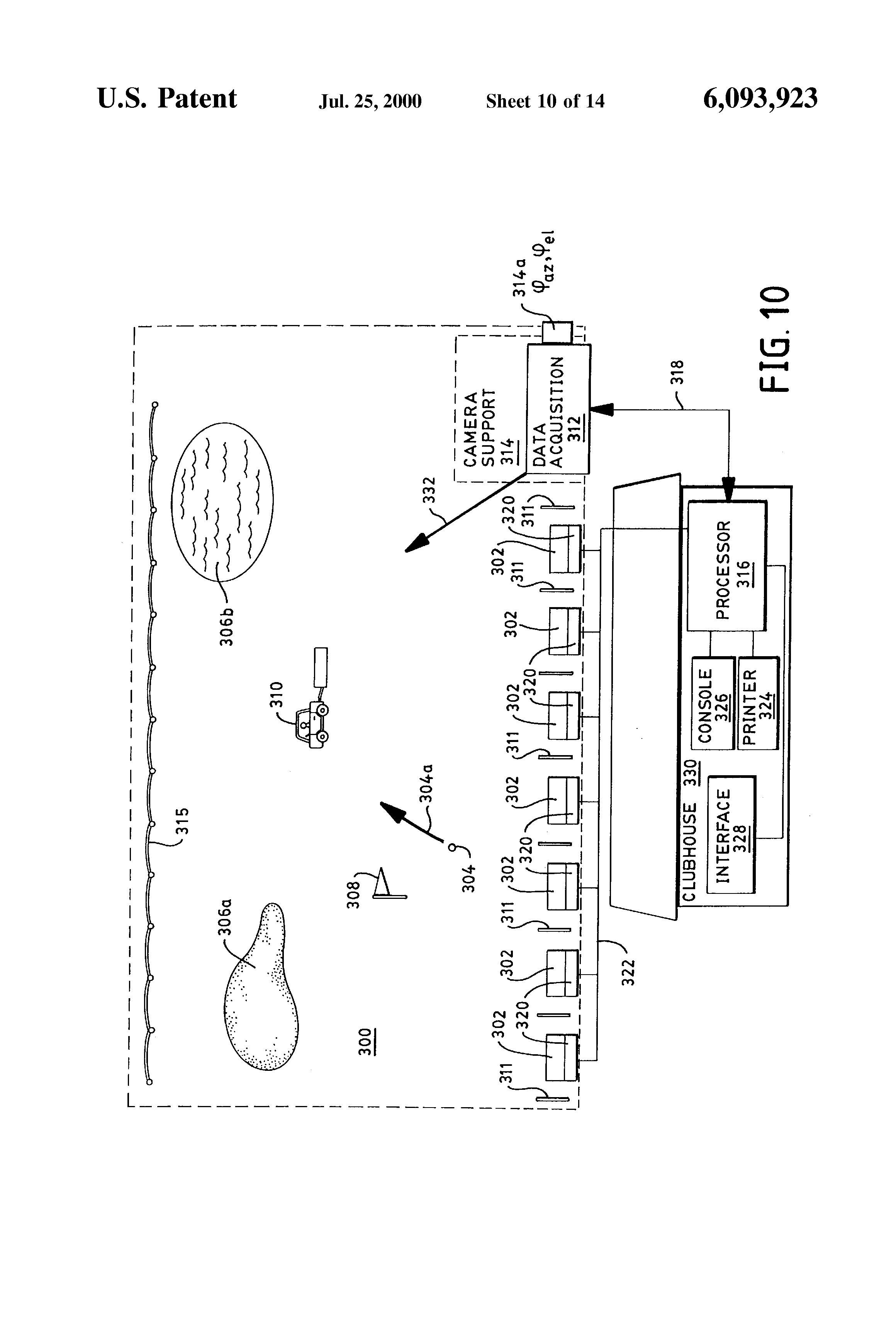 Patent Us6093923 Golf Driving Range Distancing Aratus