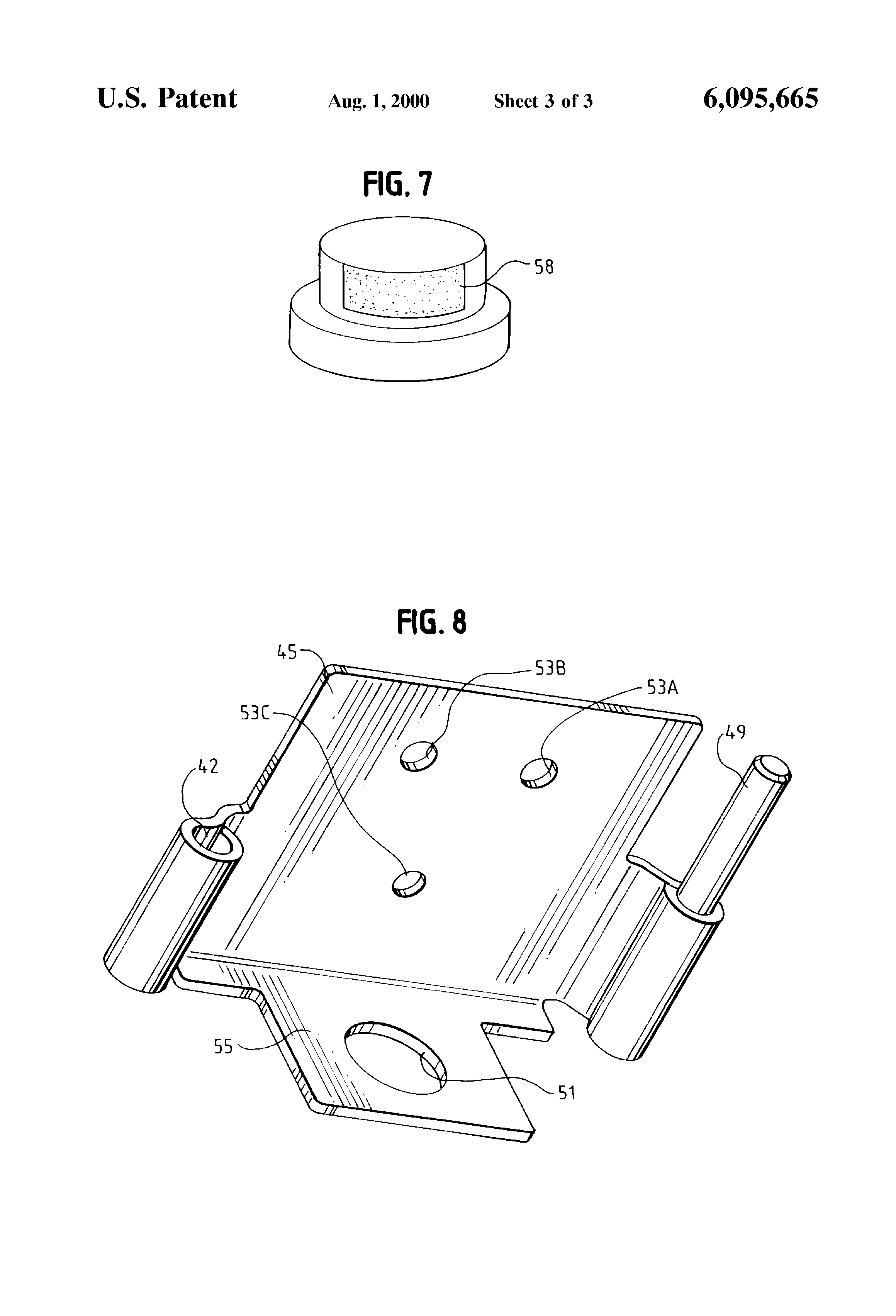 Patent US6095665 - Outdoor lamp - Google Patents