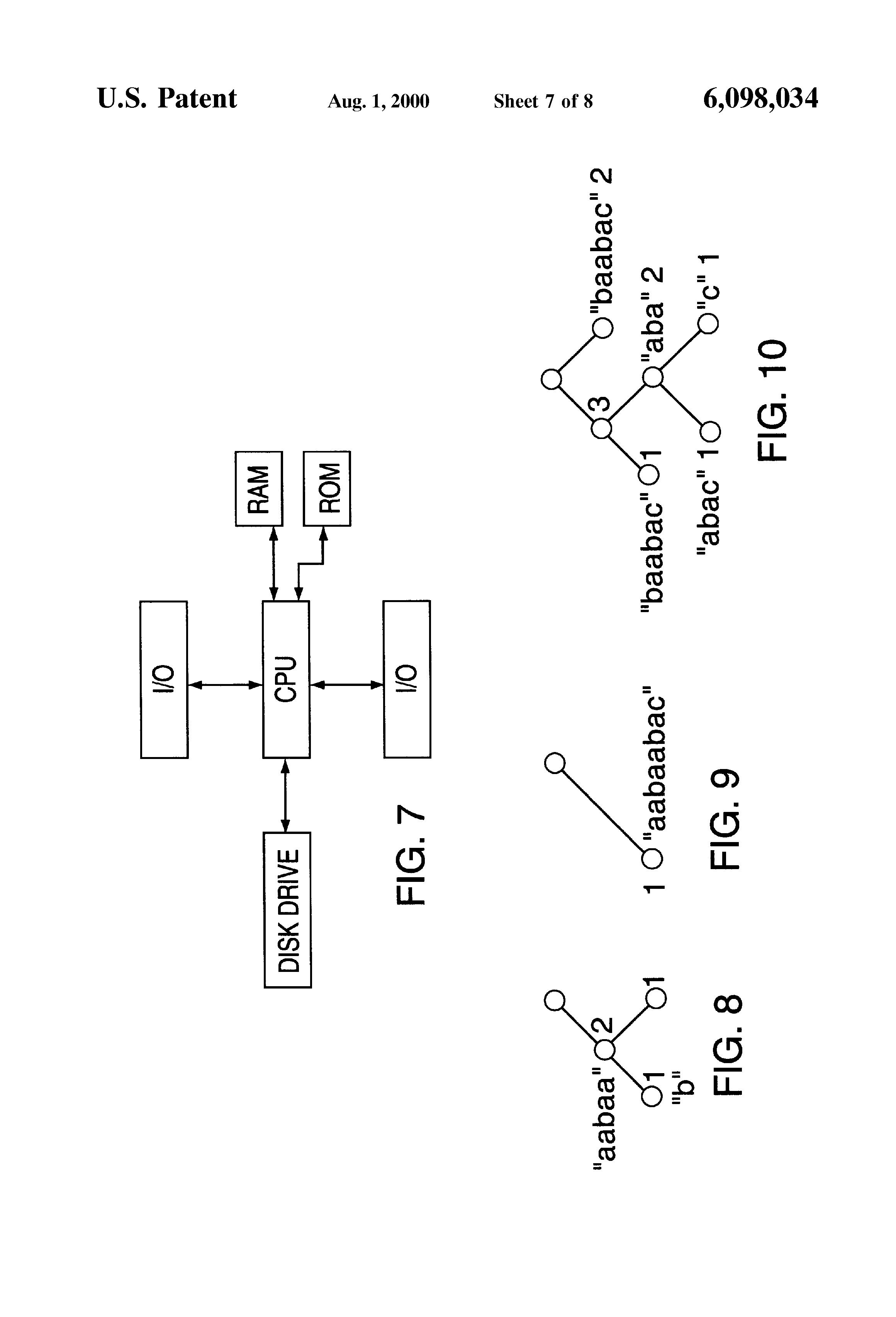 Patent Us6098034 Method For Standardizing Phrasing In A Document B C Logic Diagram Drawing