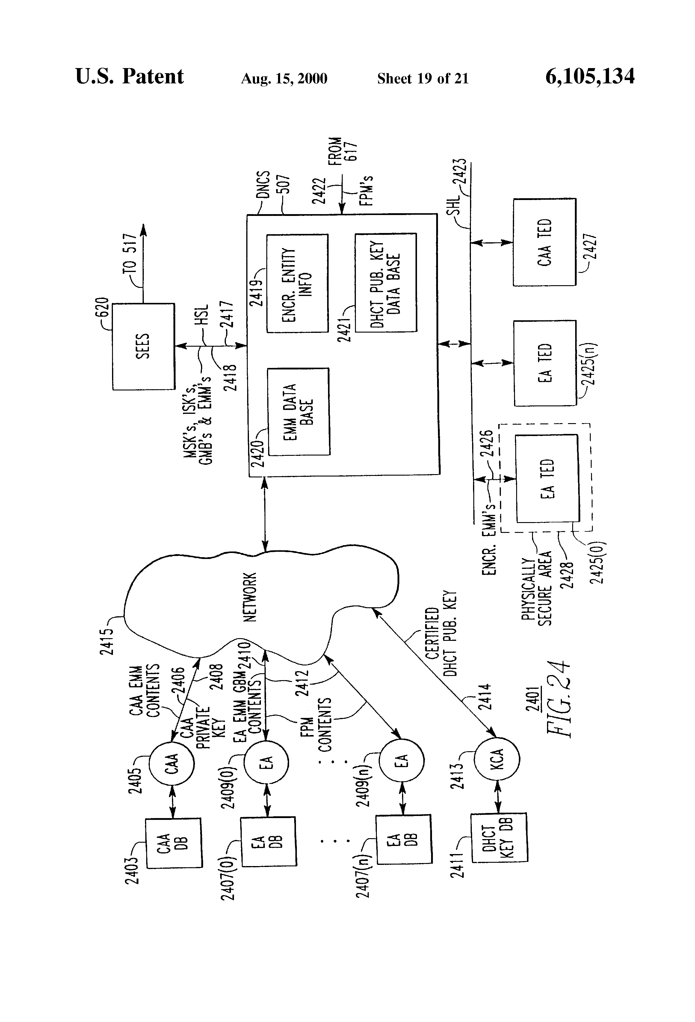 Patent Us6105134 Verification Of The Source Program Information Figure 1113 A Simple Voice Scrambling And Descrambling Circuit At Drawing