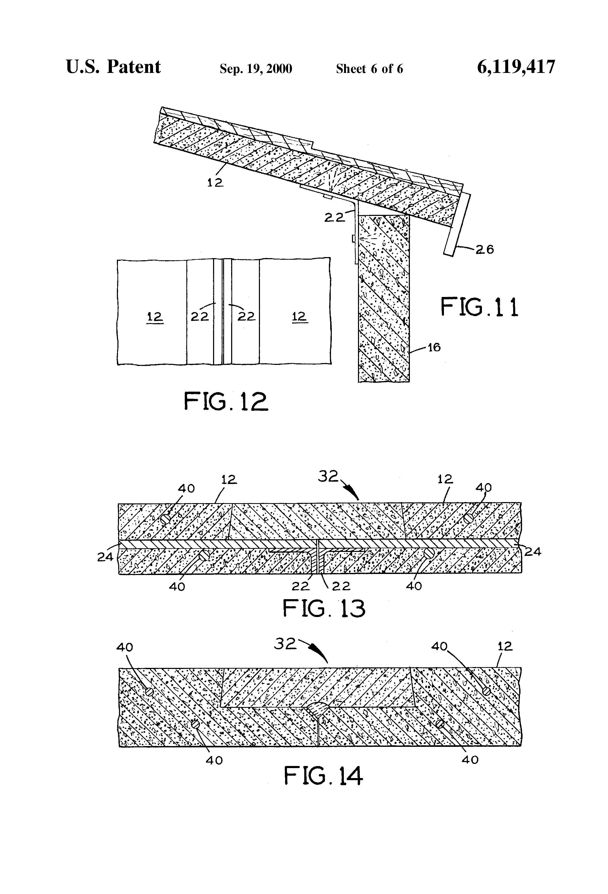 Patent Us6119417 Sloped Concrete Roof Systems Google