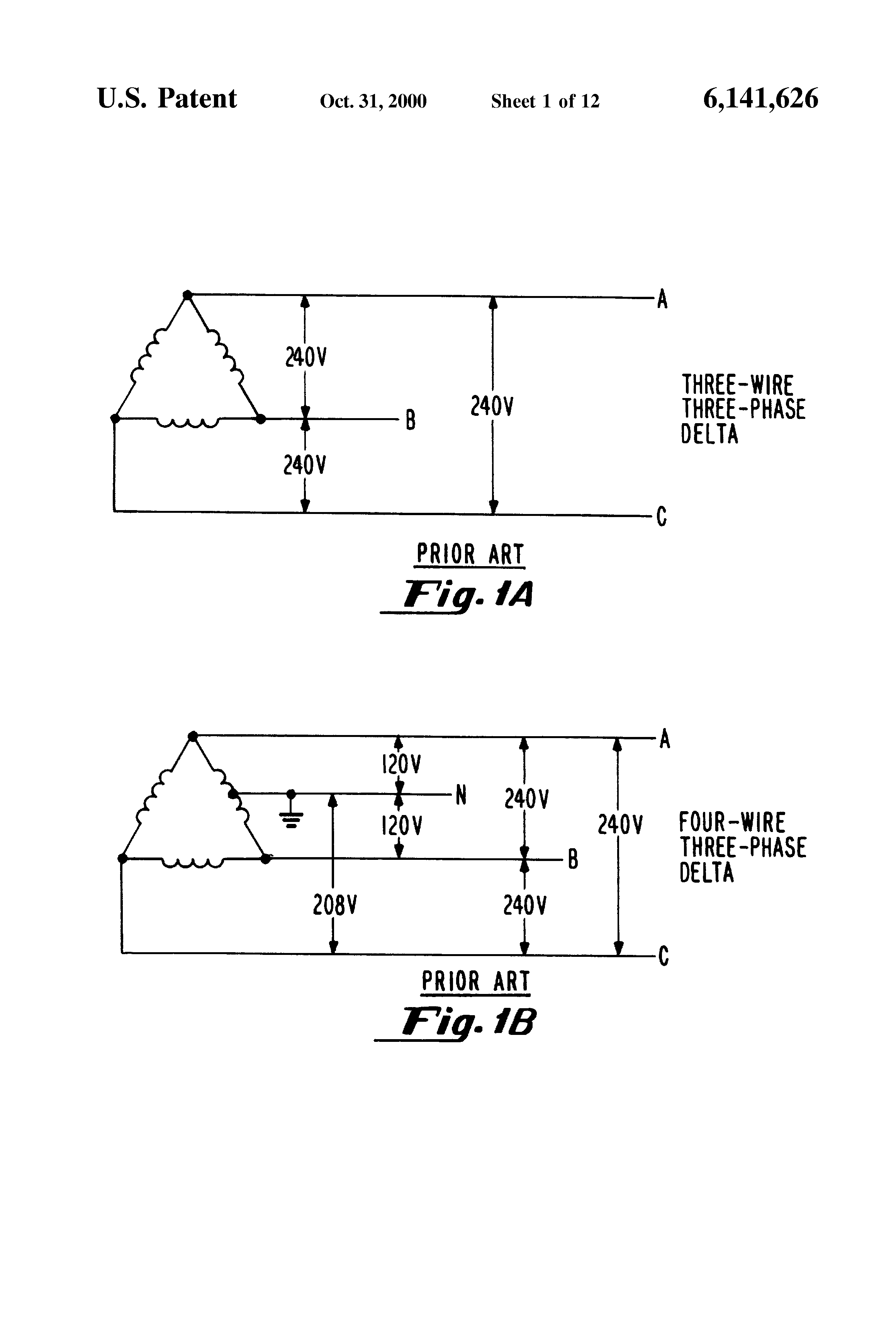 3 Phase 4 Wire Energy Meter Connection Diagram 46 Wiring How To 3phase Kwh Electrical Technology Us6141626 1 Patent Two Element Having Systems For