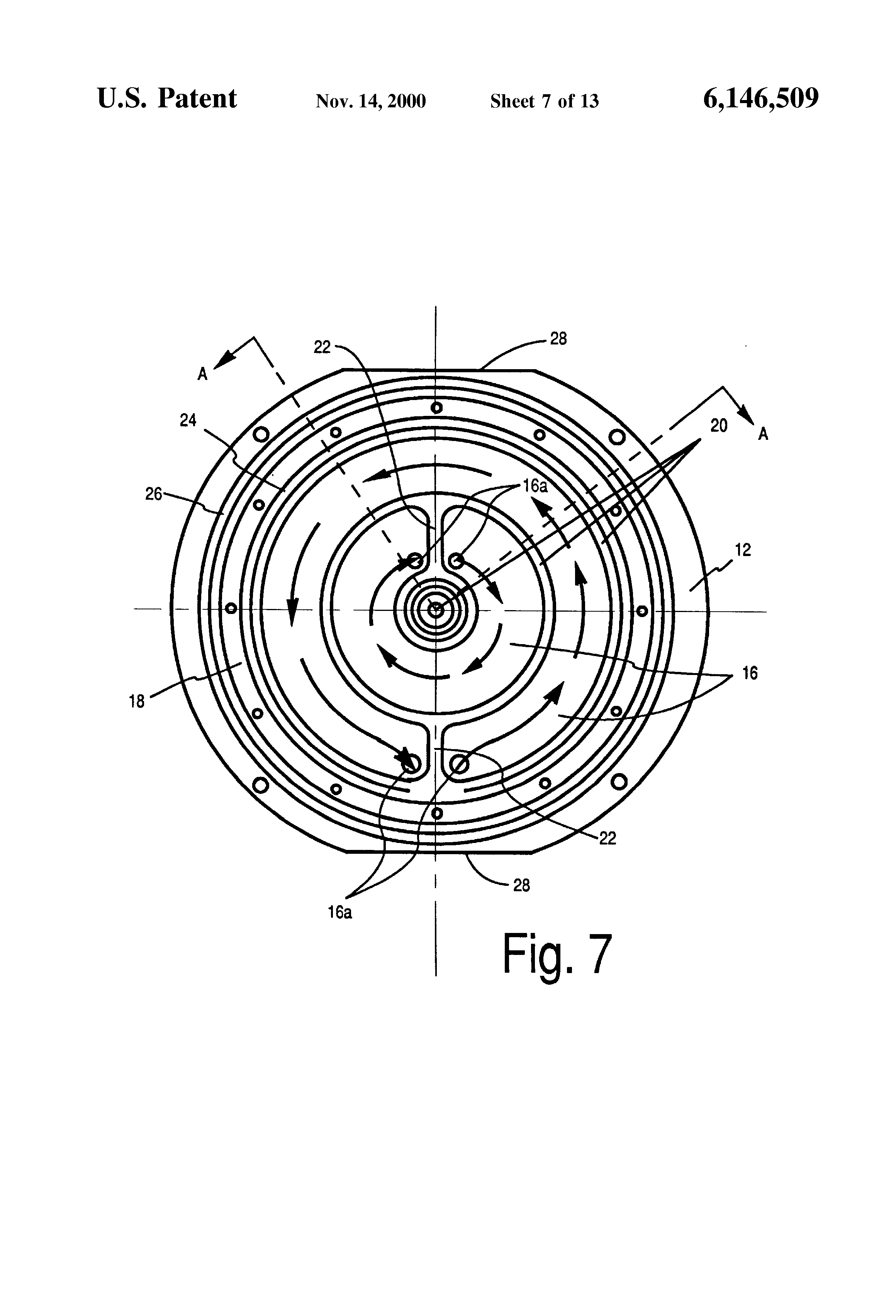patent us6146509 - inverted field circular magnetron sputtering device
