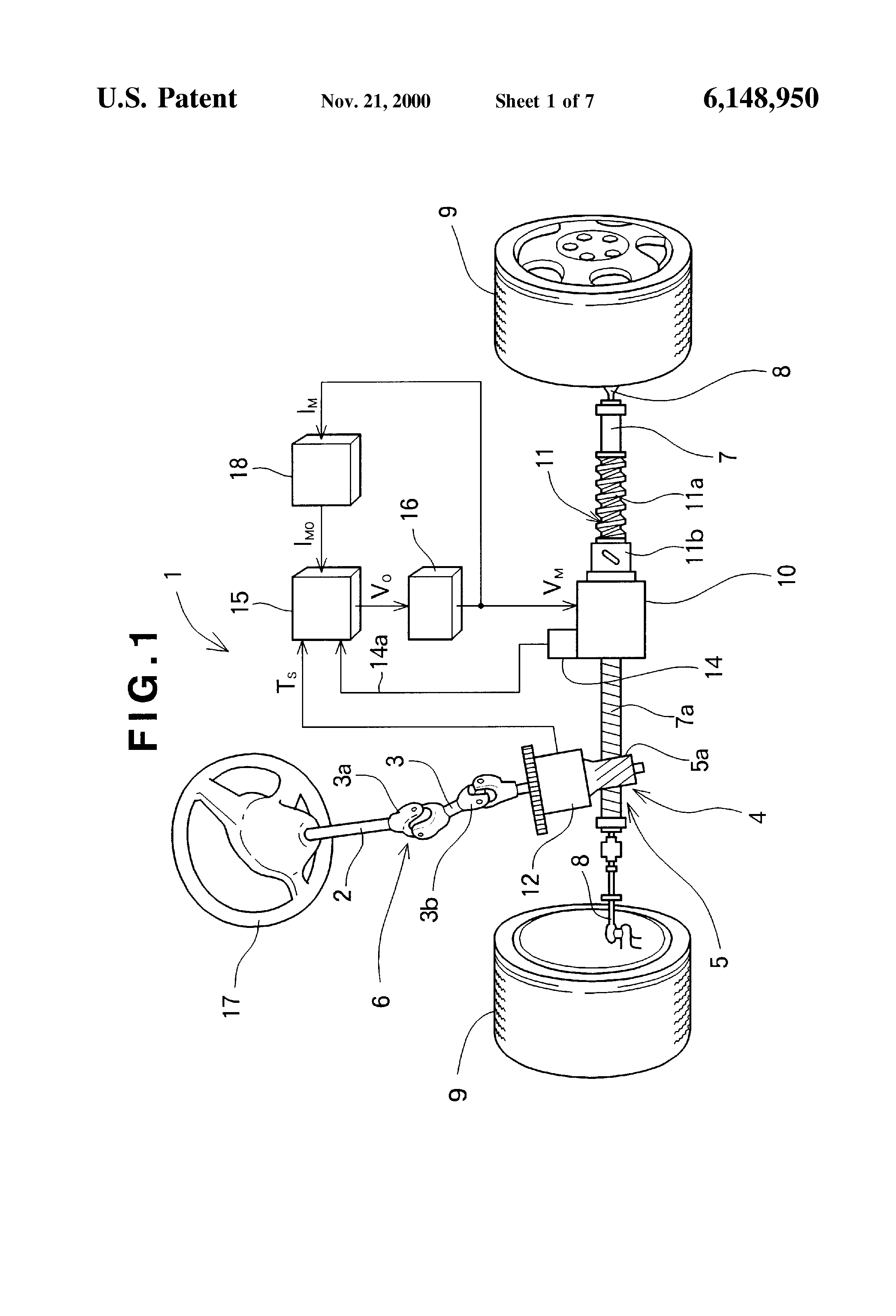torque detection in an electric power steering device