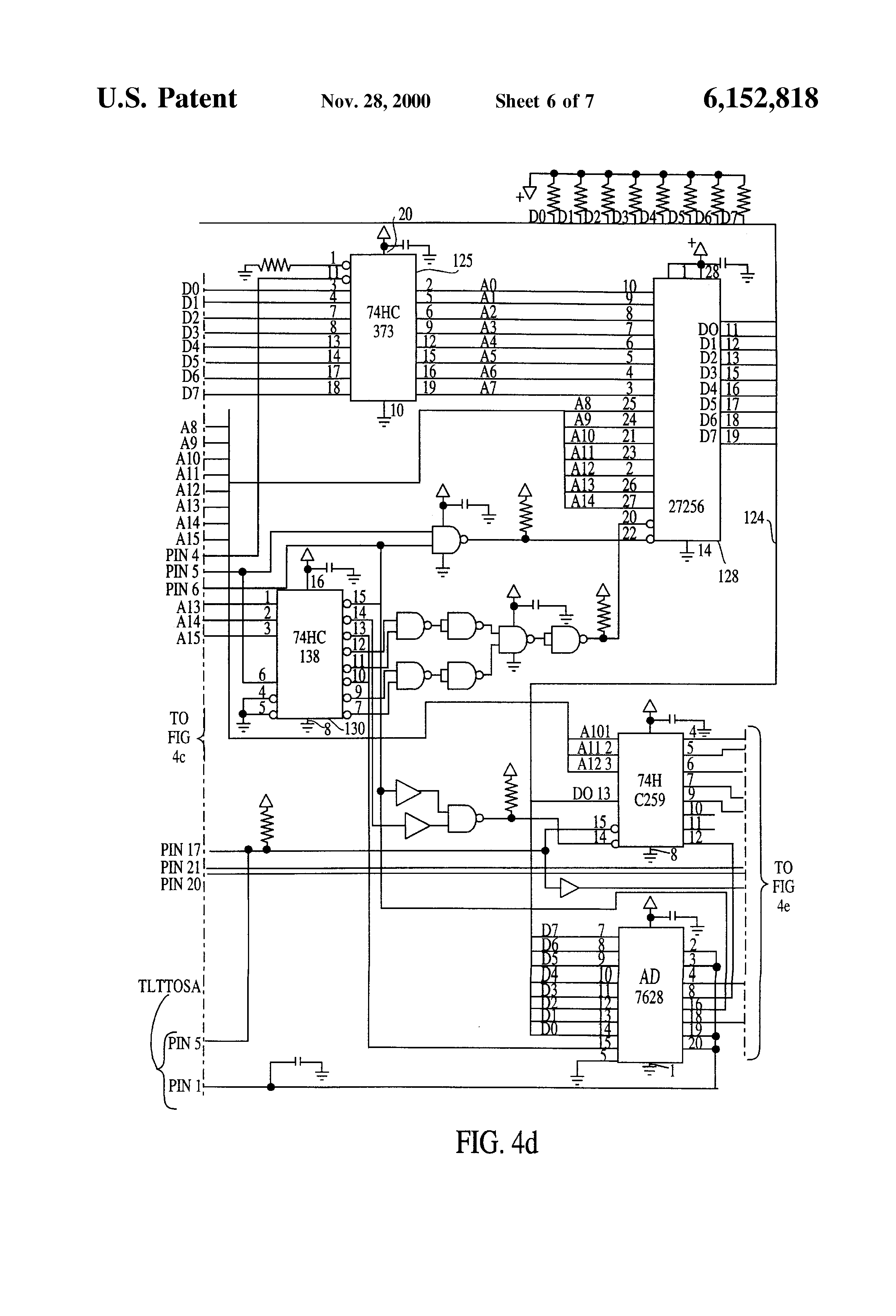 patent us6152818 - flow control apparatus for a semiconductor manufacturing wet bench