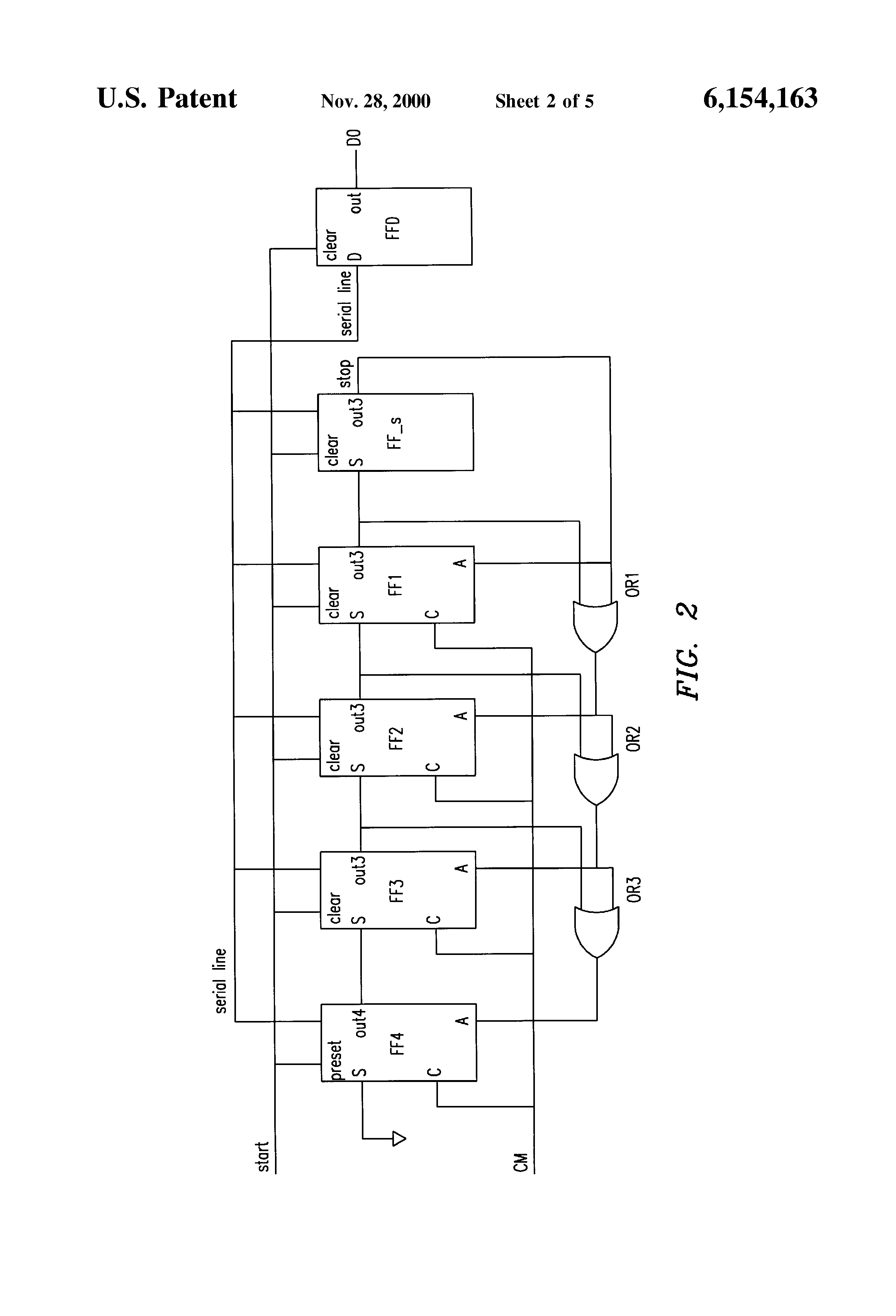 Patent Us6154163 Successive Approximation Shift Register With Approximate Adc Circuit Diagram Drawing