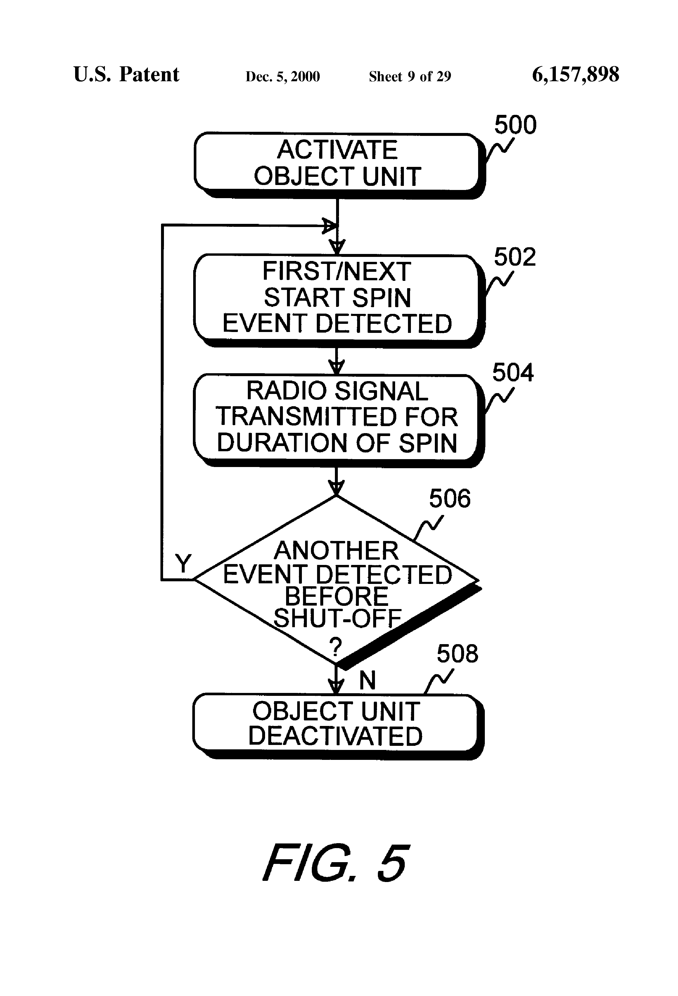 patent us6157898