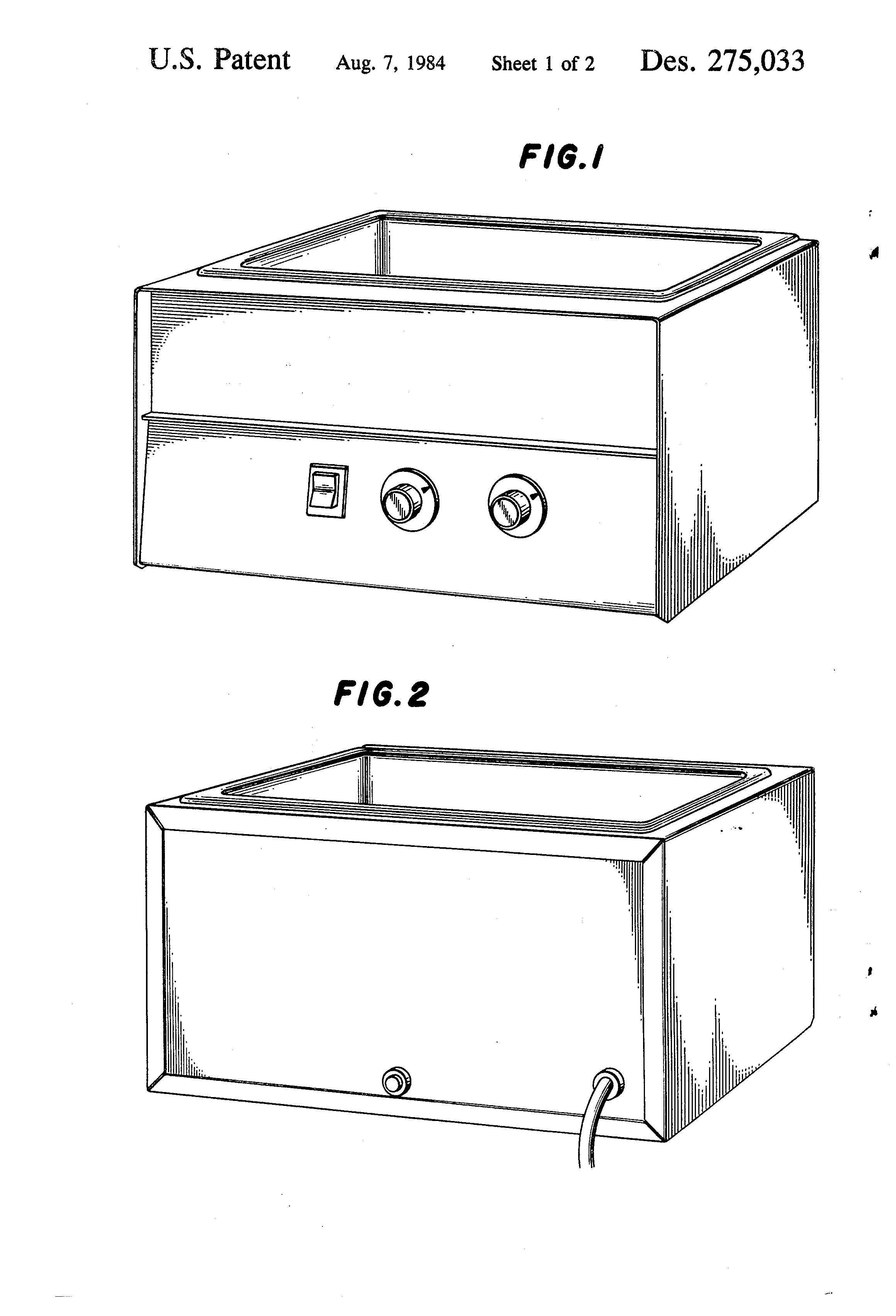Patent USD275033 - Laboratory water bath - Google Patents