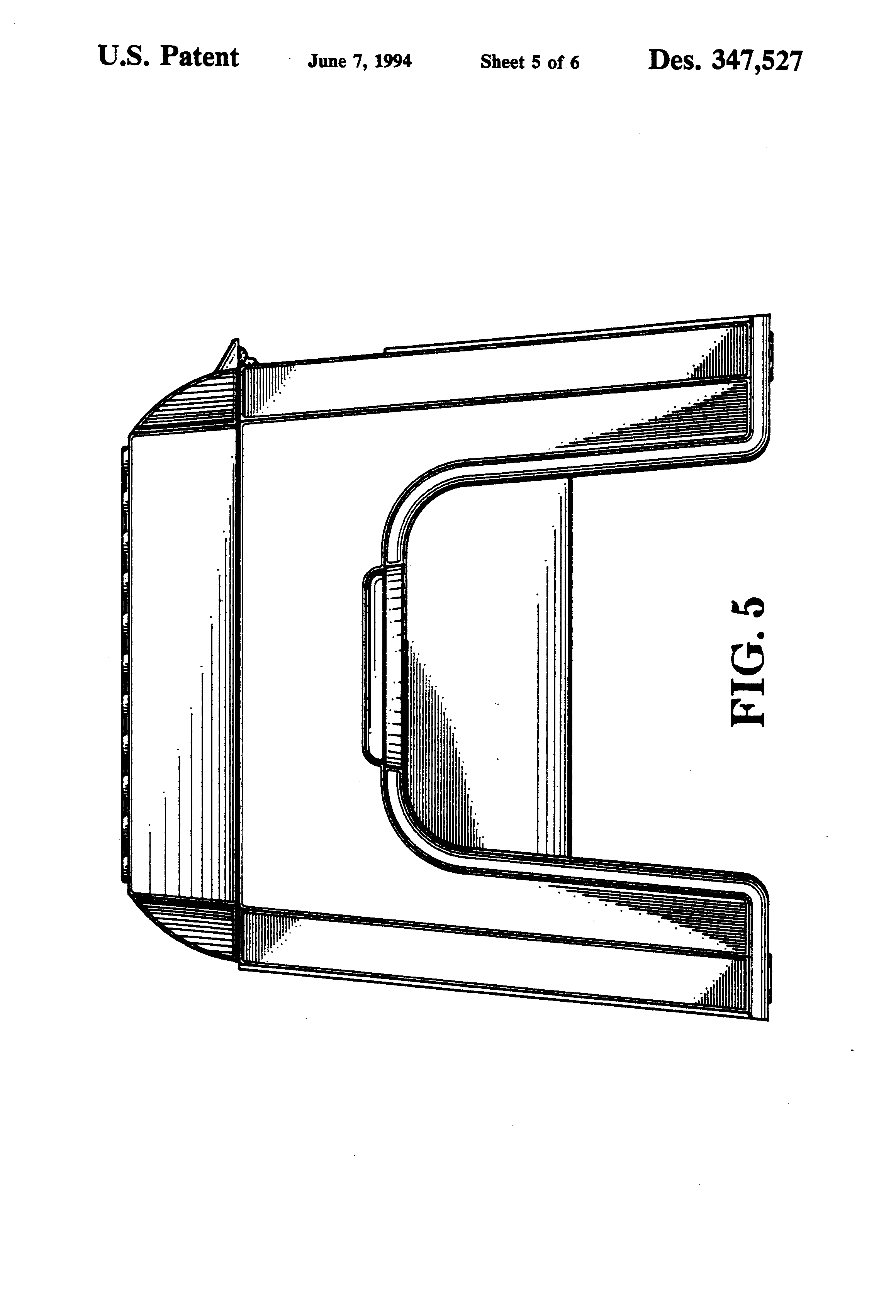 Patent Usd347527 Step Stool With Storage Compartment