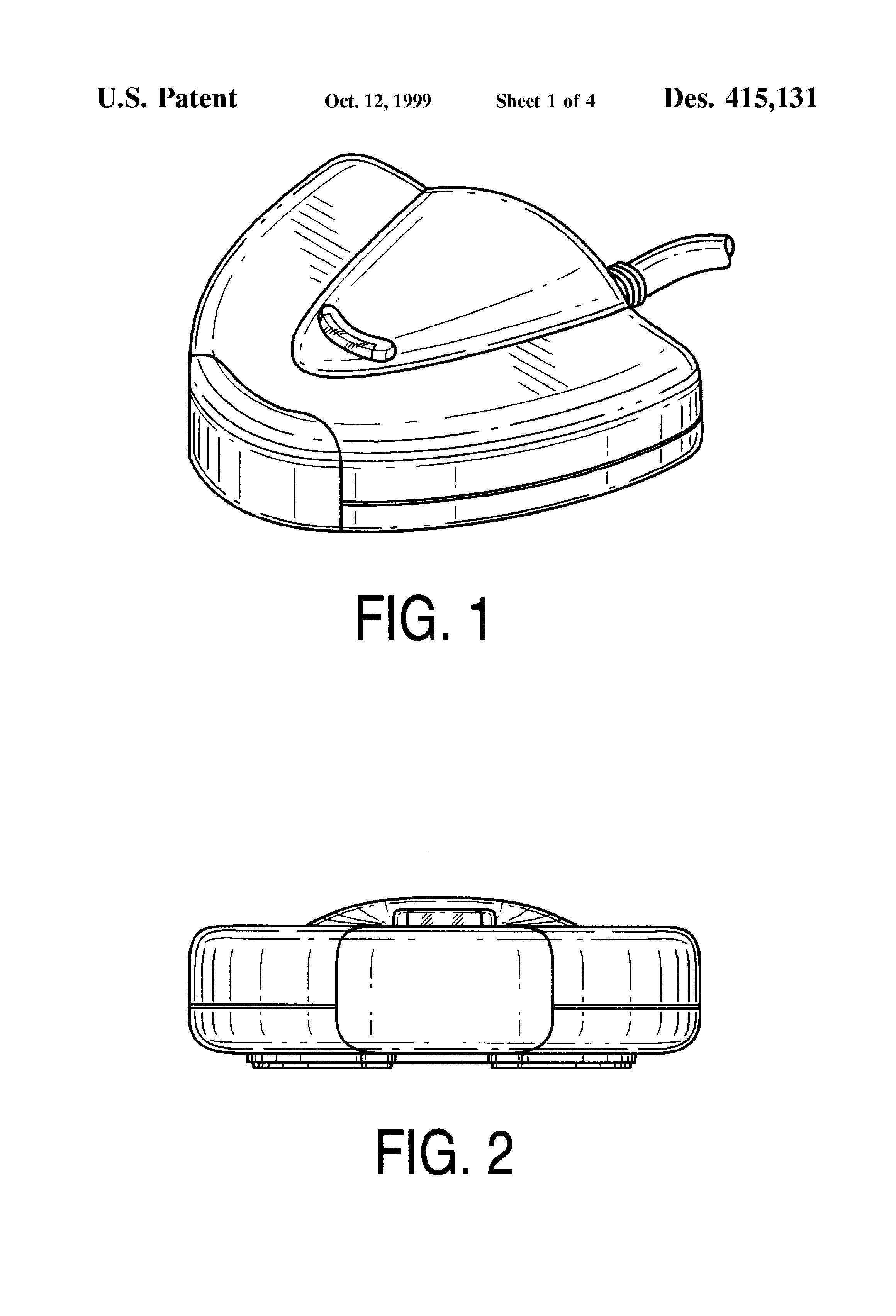 patent usd415131