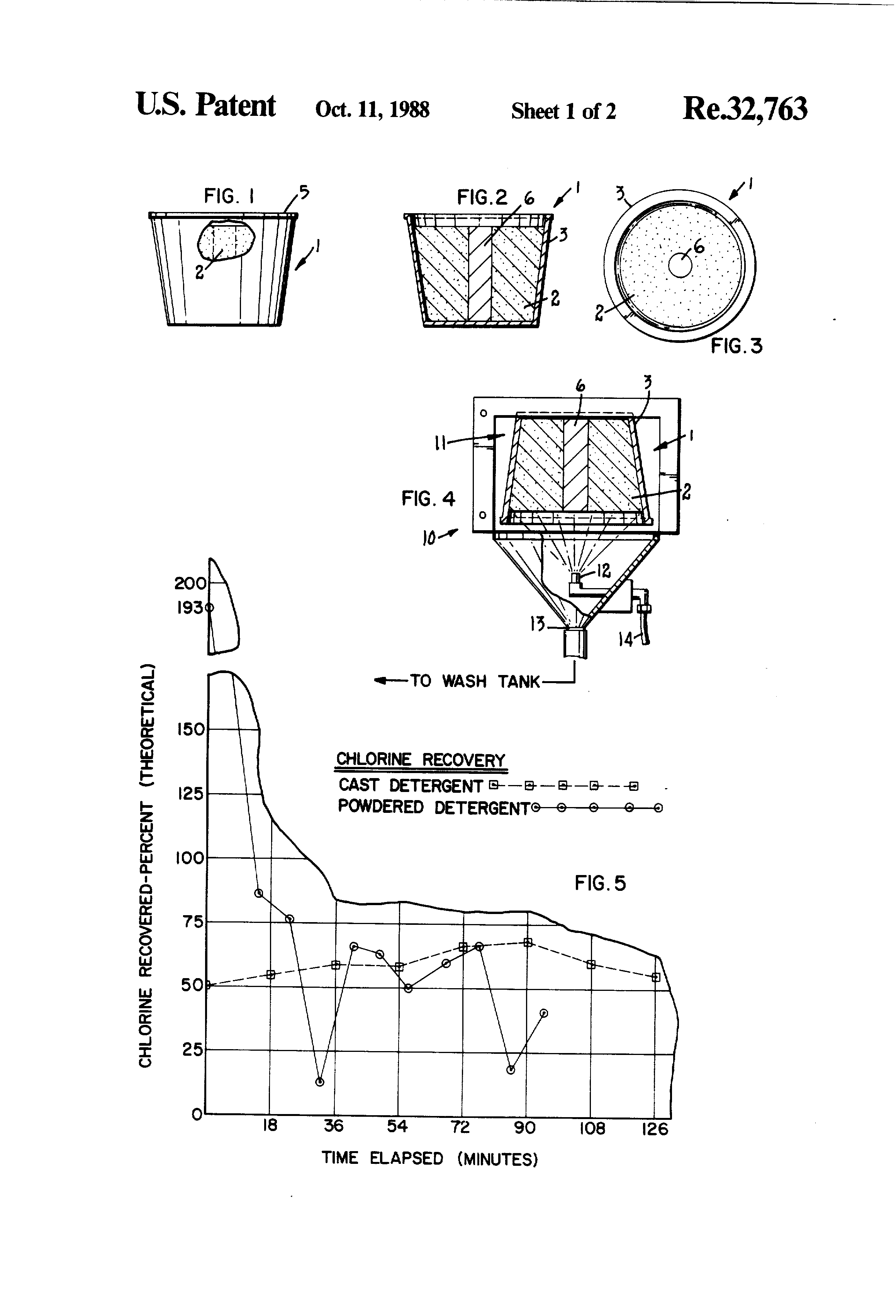 Patent usre32763 cast detergent containing article and method of patent drawing pooptronica