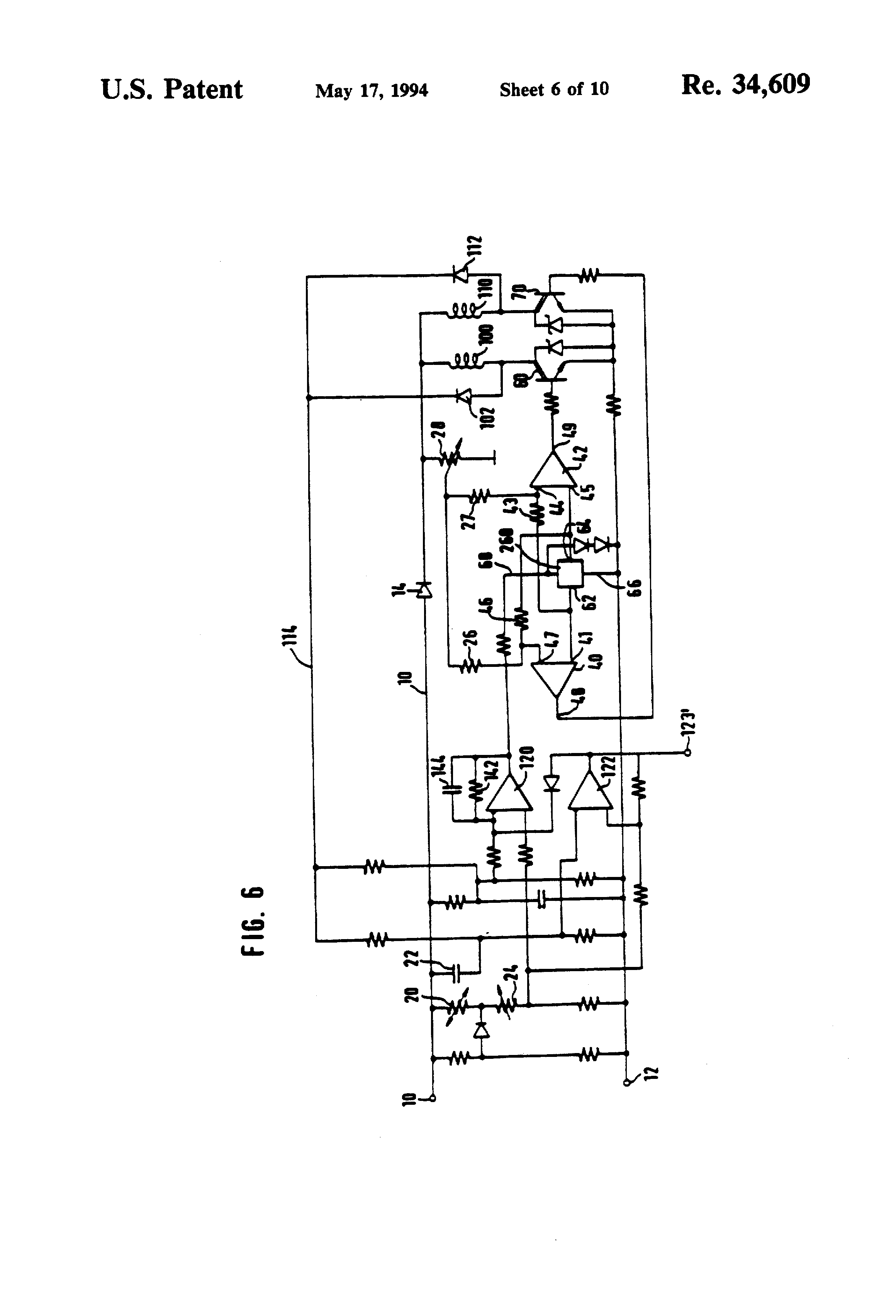 Patent Usre34609 Collectorless Direct Current Motor
