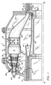 Gas turbine combustion chamber with air scoops