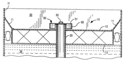 US20080155918A1 - Overflow drainage system for floating roof