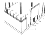 Reinforced concrete dense column structure systems