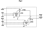 US7035796B1 - System for noise suppression, transceiver and