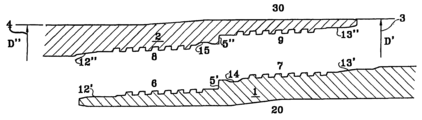 US7066499B2 - Pipe integral threaded joint - Google Patents