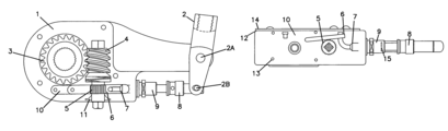 US7198138B2 - Automatic slack adjuster assembly for vehicle