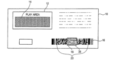 US7611065B2 - Lottery ticket bar code - Google Patents
